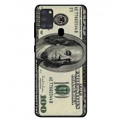 Durable 100 Dollar Note Cover For Samsung Galaxy A21s