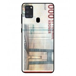 1000 Danish Kroner Note Cover For Samsung Galaxy A21s