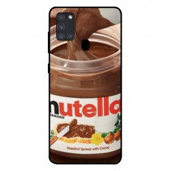 Durable Nutella Cover For Samsung Galaxy A21s