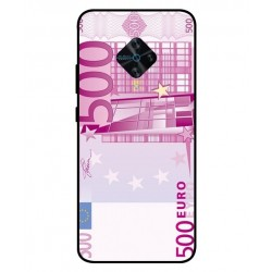 Durable 500 Euro Note Cover For Vivo X50 Lite