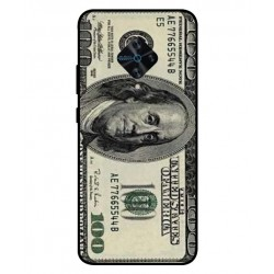 Durable 100 Dollar Note Cover For Vivo X50 Lite
