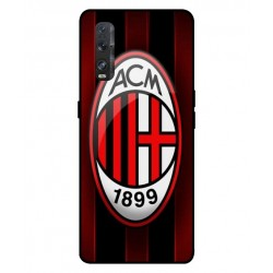 Durable AC Milan Cover For Oppo Find X2