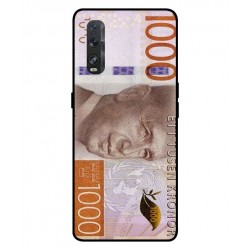 Durable 1000Kr Sweden Note Cover For Oppo Find X2