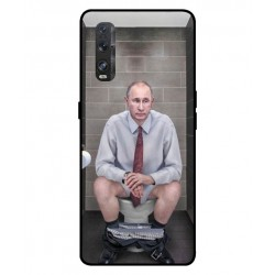 Durable Vladimir Putin On The Toilet Cover For Oppo Find X2