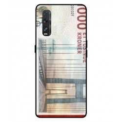 1000 Danish Kroner Note Cover For Oppo Find X2