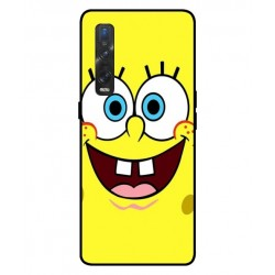 Durable SpongeBob Cover For Oppo Find X2 Pro