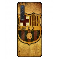 Durable FC Barcelona Cover For Oppo Find X2 Pro