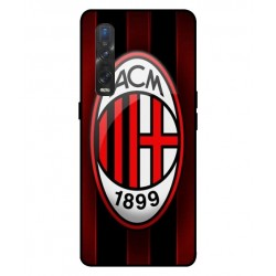 Durable AC Milan Cover For Oppo Find X2 Pro