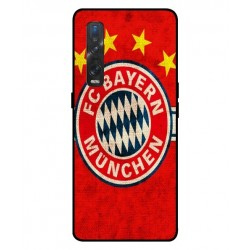 Durable Bayern De Munich Cover For Oppo Find X2 Pro