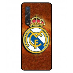 Durable Real Madrid Cover For Oppo Find X2 Pro