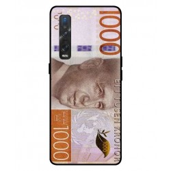 Durable 1000Kr Sweden Note Cover For Oppo Find X2 Pro