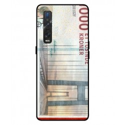 1000 Danish Kroner Note Cover For Oppo Find X2 Pro