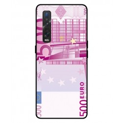 Durable 500 Euro Note Cover For Oppo Find X2 Pro