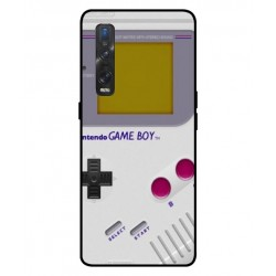 Durable GameBoy Cover For Oppo Find X2 Pro
