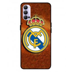 Durable Real Madrid Cover For Oppo Reno 4 5G