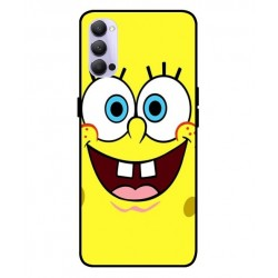 Durable SpongeBob Cover For Oppo Reno 4 Pro