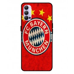 Durable Bayern De Munich Cover For Oppo Reno 4 Pro