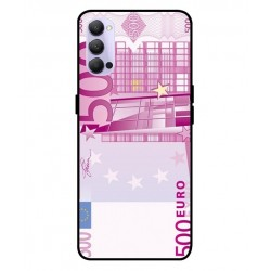 Durable 500 Euro Note Cover For Oppo Reno 4 Pro