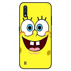 Durable SpongeBob Cover For Samsung Galaxy M01