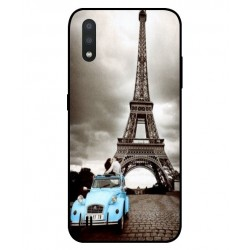 Durable Paris Eiffel Tower Cover For Samsung Galaxy M01