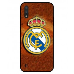 Durable Real Madrid Cover For Samsung Galaxy M01