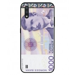 1000 Norwegian Kroner Note Cover For Samsung Galaxy M01