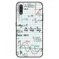 Durable Mathematics Cover For Samsung Galaxy M01