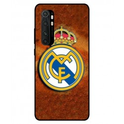 Durable Real Madrid Cover For Xiaomi Mi Note 10 Lite