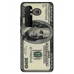 Durable 100 Dollar Note Cover For Xiaomi Mi Note 10 Lite