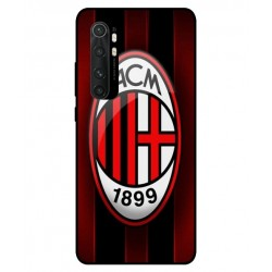 Durable AC Milan Cover For Xiaomi Mi Note 10 Lite