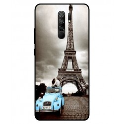 Durable Paris Eiffel Tower Cover For Xiaomi Redmi 9