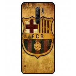 Durable FC Barcelona Cover For Xiaomi Redmi 9