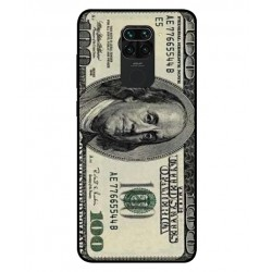 Durable 100 Dollar Note Cover For Xiaomi Redmi 10X 4G