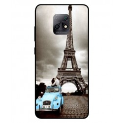 Durable Paris Eiffel Tower Cover For Xiaomi Redmi 10X 5G