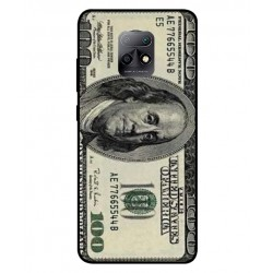 Durable 100 Dollar Note Cover For Xiaomi Redmi 10X 5G