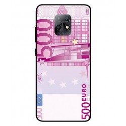 Durable 500 Euro Note Cover For Xiaomi Redmi 10X 5G
