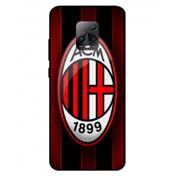 Durable AC Milan Cover For Xiaomi Redmi 10X Pro 5G