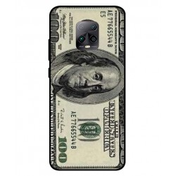 Durable 100 Dollar Note Cover For Xiaomi Redmi 10X Pro 5G