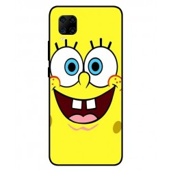 Durable SpongeBob Cover For ZTE Axon 11 4G