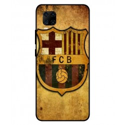 Durable FC Barcelona Cover For ZTE Axon 11 4G