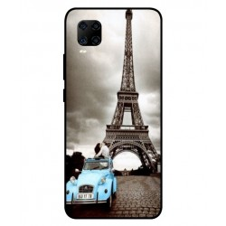 Durable Paris Eiffel Tower Cover For ZTE Axon 11 4G