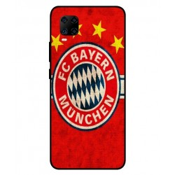 Durable Bayern De Munich Cover For ZTE Axon 11 4G
