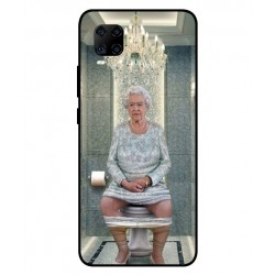 Durable Queen Elizabeth On The Toilet Cover For ZTE Axon 11 4G