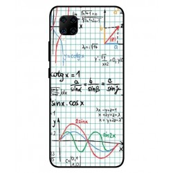 Durable Mathematics Cover For ZTE Axon 11 4G