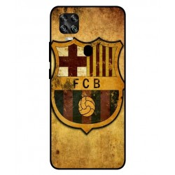 Durable FC Barcelona Cover For ZTE Axon 11 SE 5G