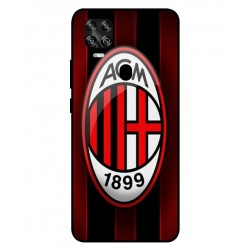 Durable AC Milan Cover For ZTE Axon 11 SE 5G