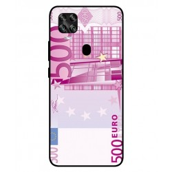 Durable 500 Euro Note Cover For ZTE Axon 11 SE 5G
