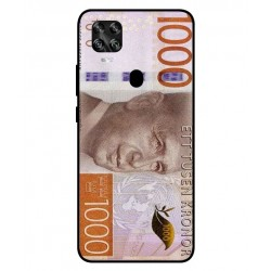 Durable 1000Kr Sweden Note Cover For ZTE Axon 11 SE 5G