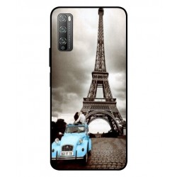 Durable Paris Eiffel Tower Cover For Huawei Enjoy 20 Pro