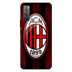 Durable AC Milan Cover For Huawei Enjoy 20 Pro